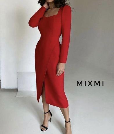 Идеальное красное платье