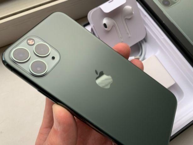 Сост. 10 из 10! IPhone 11 Pro 64gb Green Neverlock, Батарея 100%