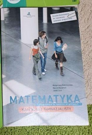 MATEMATYKA Kalendarz gimnazjalisty