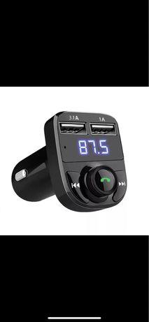 Transmiter Bluetooth Fm Ładowarka