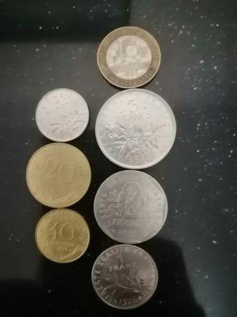 Coleção de moedas francesas