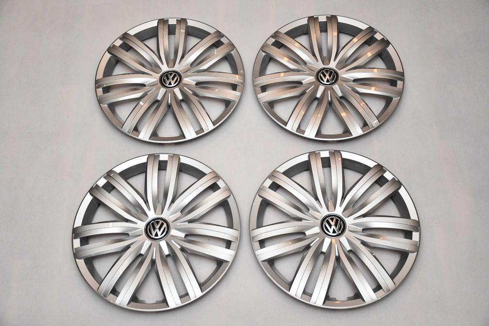 Nowy Oryginalny Komplet Kołpaków Volkswagen 16 Cali Racibórz - image 1