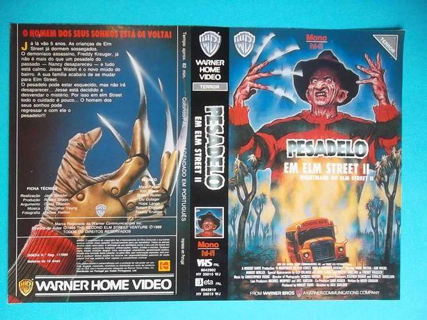 Capas de filmes de terror VHS