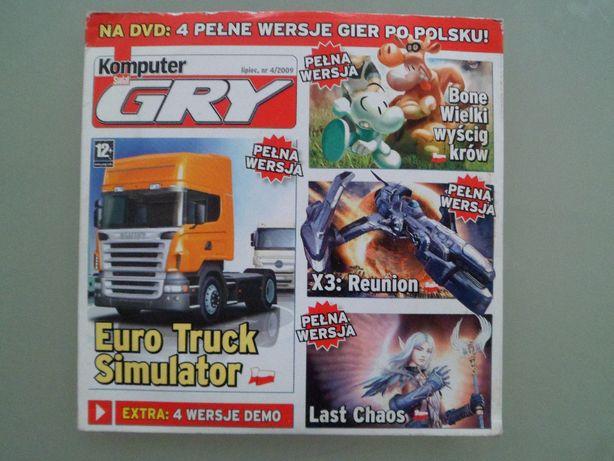 Euro Truck Symular,X3 Reunion,Last Chaos,Bone Wielki Wyścig-Gry PC,gra