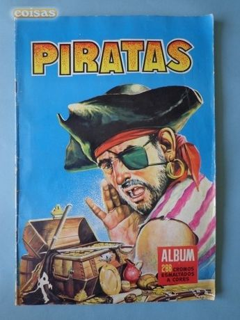 Caderneta Cromos Pirata 1958 IBIS