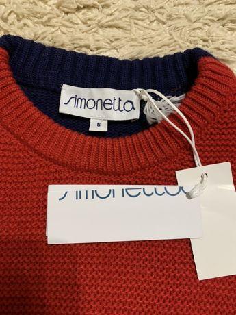 Продам свитер simonetta  116 p