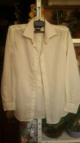 Рубашка школьная на мальчика, рост 146-152 см