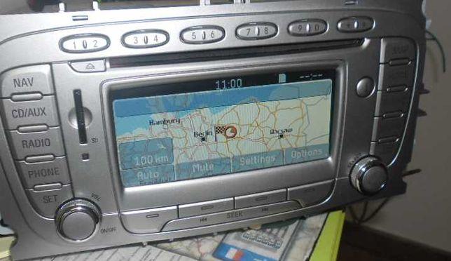 Ford DX FX Mondeo Galaxy focus nawigacja Mapa 2020 karta sd