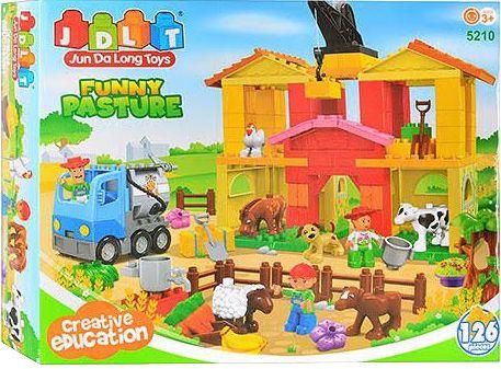 "Аналог LEGO - JDTL-5210 ""Ферма"""
