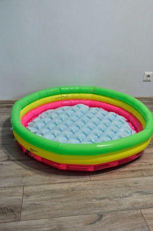 Детский надувной бассейн Intex, диаметр 90 см