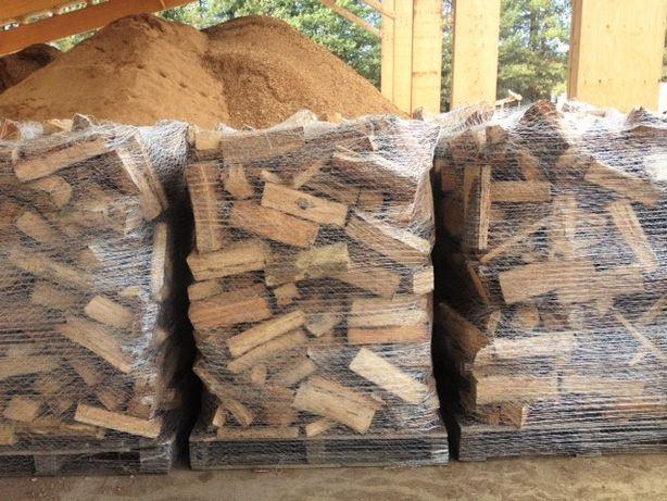 Worek Big Bag do Drewna Raszlowy Wentylowany otwarty wsyp/lej spustowy