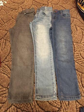 Spodnie komplet 128-134