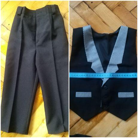 Классические брюки и жилет на мальчика
