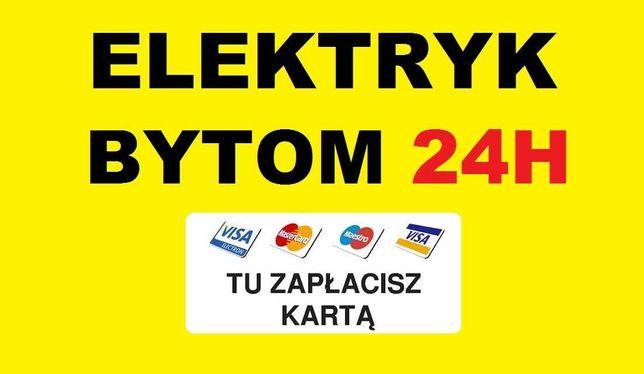 ELEKTRYK BYTOM 24h Awarie - Usługi od 49zł - Udzielamy Gwarancję SEP