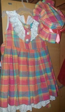 Платье (на 5-6 лет)