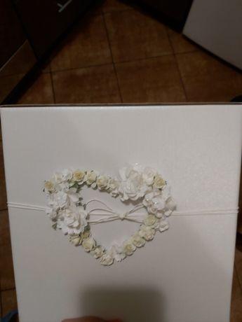 Pudelko na koperty na wesele