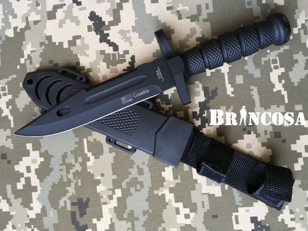 Лот № 21 РОЗПРОДАЖ/Нож армейский Columbia/лучше чем бита, пистолет