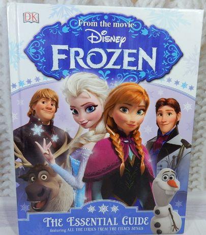 книга английский детская сказка Disney Frozen the Essential Guide