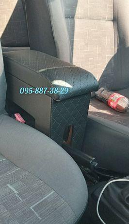 Подлокотник Dacia Sandero ромб черный