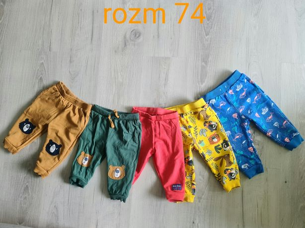Spodnie chłopięce 74