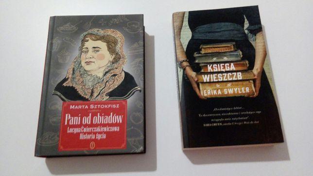 Pani od obiadów. Lucyna Ćwierczakiewiczowa + Księga wieszczb