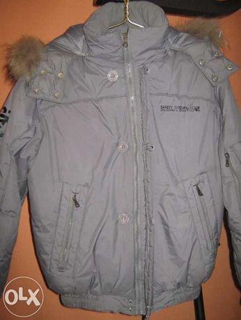 Куртка подростковая, зимняя, на мальчика