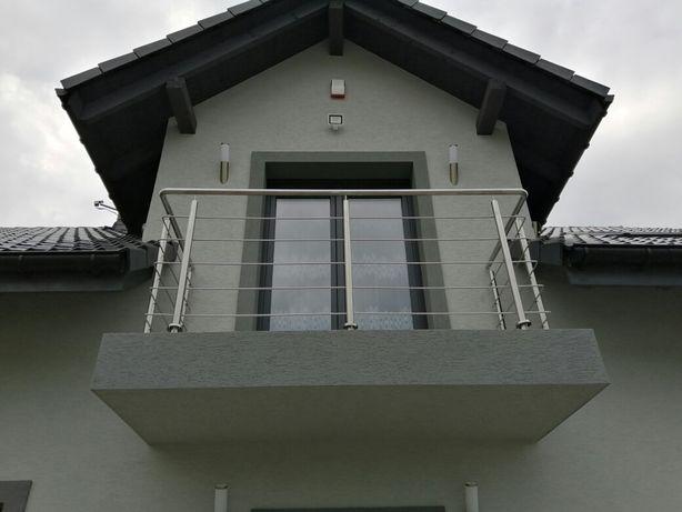 Balustrady producent barierki nierdzewne balkonowe schodowe najtaniej