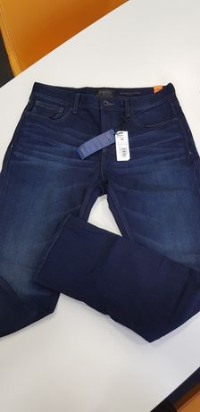 SUPERDRY jeansy nowe 34