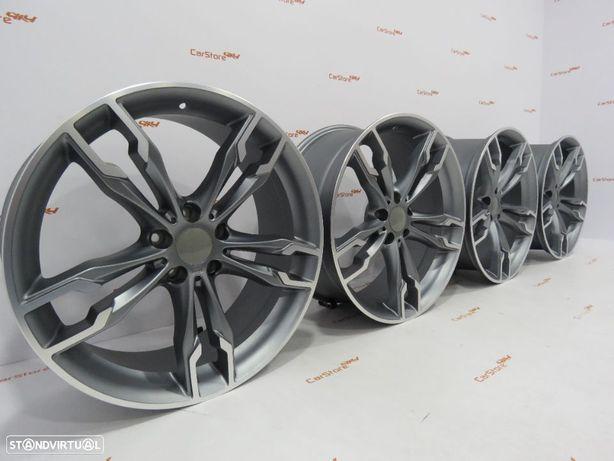 Jantes Look Bmw Style668M 18 x 8 + 9 et 35 5x112 Antracite + Polidas