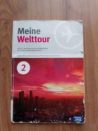 Meine Welttour - podręcznik i ćwiczenia do języka niemieckiego