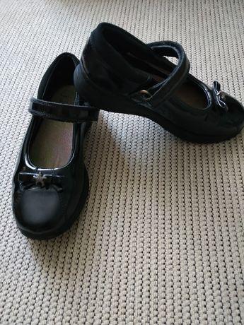 Кожаные детские туфли Clarks, 29р(18 см)