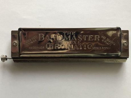Губная гармошка The Bandmaster, фирма SEYDEL'S SYSTEM GDR Германия