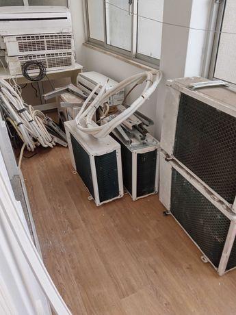 5 aparelhos de ar condicionado