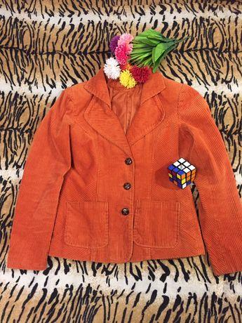 Пиджак женский, ярко оранжевый