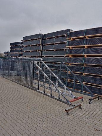 Panele ogrodzeniowe 123/250 fi4 ocynk+ral II gat.