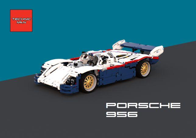 Manual de Instruções Porsche 956 Lego Technic