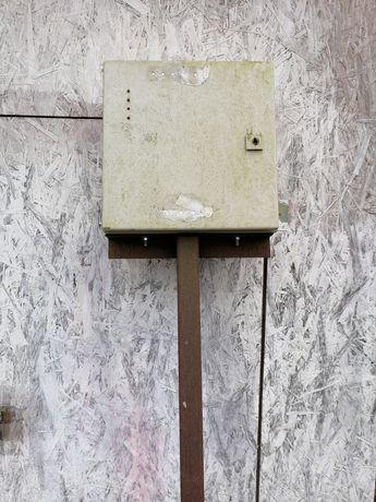 Skrzynka budowlana na prąd