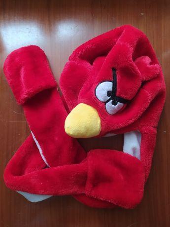Czapka angry birds kidcore decora kei