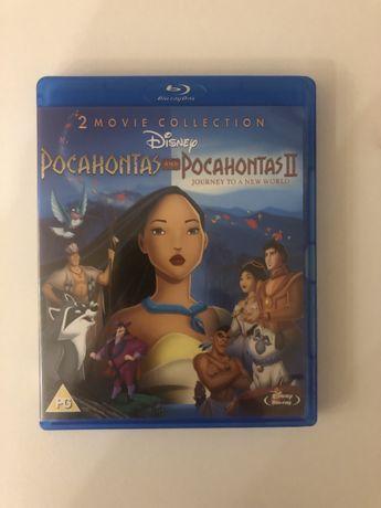 Blu-ray DVD Disney - Pocahontas 1 + 2