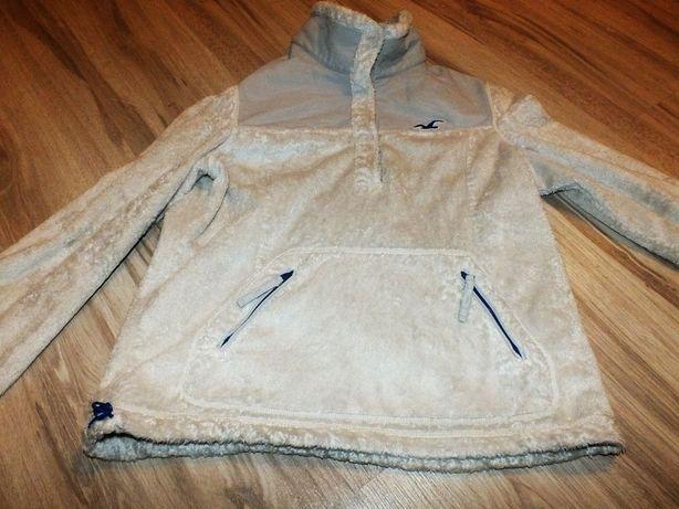 Hollister bluza polarowa misiowa L