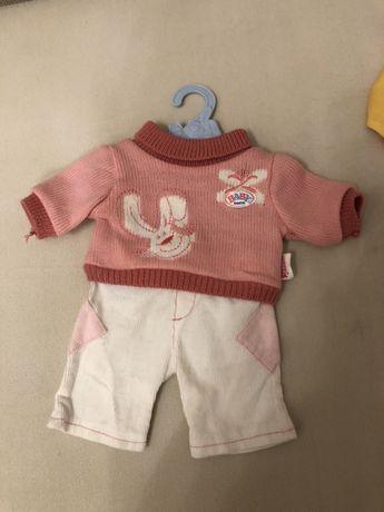 Костюм для Куклы Baby Born, choo-choo