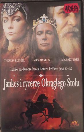 JANKES I RYCERZE okrągłego stołu !!! Kaseta VHS video !!!