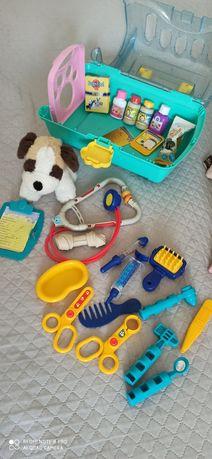 Набор игрушек Keenway My pet собака щенок врач доктор ветеринар