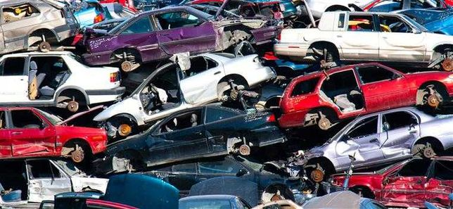 Carros Veículos abate fim de vida