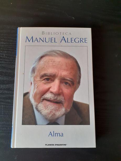"""Livro """"Alma"""" de Manuel Alegre"""