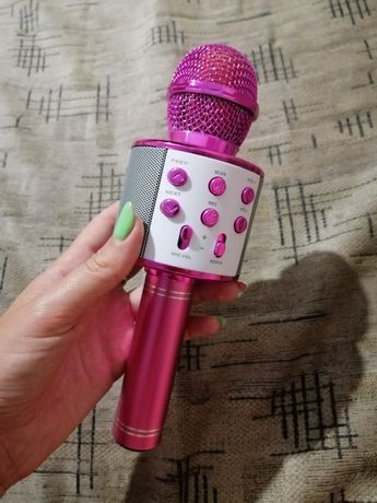 Беспроводной микрофон караоке bluetooth WS858