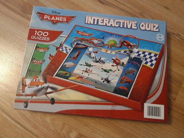 Interactive Quiz samoloty Clementoni