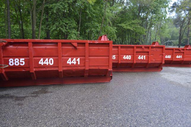 kontener kontenery na gruz odpady poremontowe wełna styropian papa