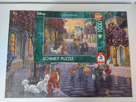 Puzzle schmidt Disney Arystokraci 1000