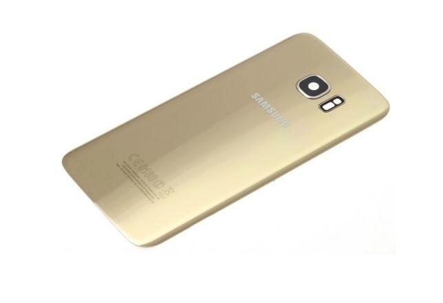 Klapka Samsung S7 EDGE G935F ORYGINALNA ZŁOTA Możliwość montażu